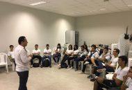 Alunos do Campus Montanha recebem equipe da Reitoria Itinerante do Ifes
