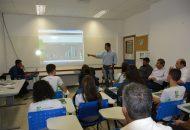 Reitor do Ifes é recebido por alunos e servidores do Campus Nova Venécia na Reitoria Itinerante.