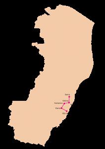 A Rota 5 da Reitoria Itinerante do Ifes inclui os campi Serra, Vitória, Cariacica, Viana e Vila Velha.