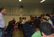 Reunião da Reitoria Itinerante no Campus Cachoeiro